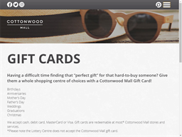 Cottonwood Mall gift card purchase