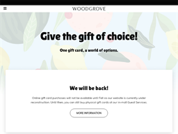 Woodgrove Centre gift card purchase