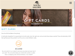 South Bay Galleria gift card purchase