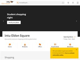 intu Eldon Square shopping