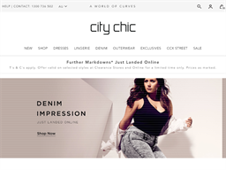 City Chic shopping