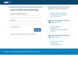 ANZ Bank gift card purchase