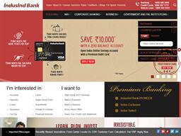 Induslnd Bank shopping