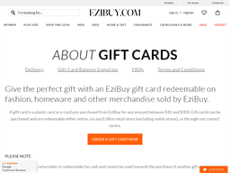 Ezibuy gift card purchase