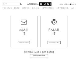 Andrea Biani Shoes gift card balance check