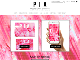 PIA Boutique gift card purchase