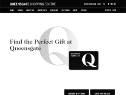Queensgate Shopping Centre gift card purchase