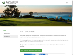 Gulf Harbour Country Club gift card purchase