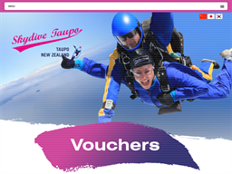 Skydive Taupo gift card purchase