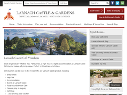 Larnach Castle & Gardens gift card purchase