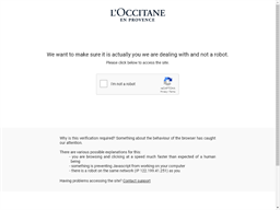 L'Occitane gift card purchase