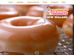 Dunkin Donuts NZ shopping