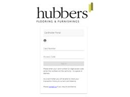 Hubbers Flooring & Furnishings gift card balance check