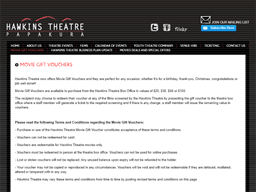 Hawkins theatre gift card purchase