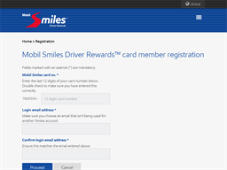 Mobil Smiles NZ gift card balance check