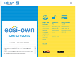Easi-Own Card gift card purchase
