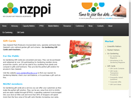 New Zealand Plant Producers Incorporated (NZPPI) gift card purchase