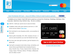 Swirl Card gift card purchase