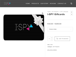 I Spy Clothing gift card purchase