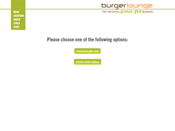 Burger Lounge gift card purchase