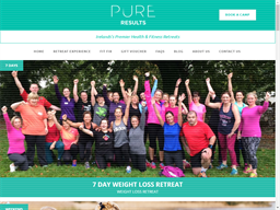 Pure Results Bootcamp shopping
