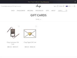 Unique & Alternative Jewellery gift card purchase