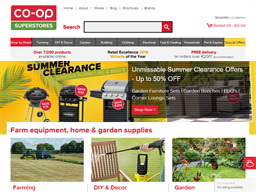 CO-OP Superstores shopping