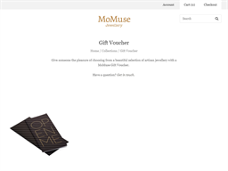 Mo Muse gift card purchase