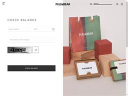 Pull & Bear Ireland gift card balance check