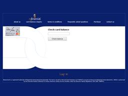 RG Financial gift card balance check
