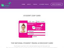 Student Leap Card shopping