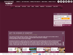 Wineport Lodge gift card purchase