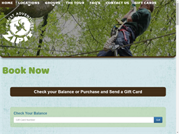 Zipit Forest Adventures Rescommon gift card balance check