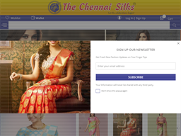 The Chennai Silks shopping