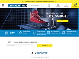 Decathlon Pro shopping