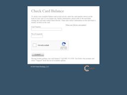 Carlo Pazolini gift card balance check