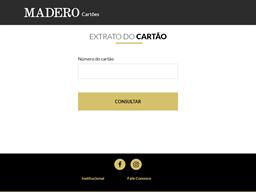 Madero gift card balance check