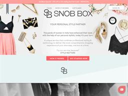 Snob Box shopping