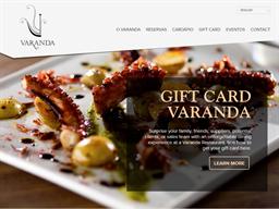 Varanda Grill gift card purchase