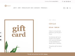 Sienna Byron Bay gift card purchase