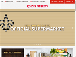 Rouses Supermarkets shopping