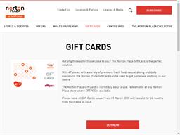 Norton Plaza gift card purchase