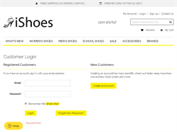 iShoes gift card purchase