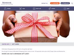 Brimbank gift card purchase
