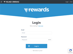 Village Cinemas Gold Class gift card balance check
