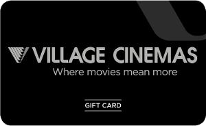 Village Cinemas Gold Class gift card purchase