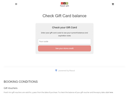 Food I Am gift card balance check