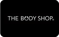 The Body Shop gift card design and art work