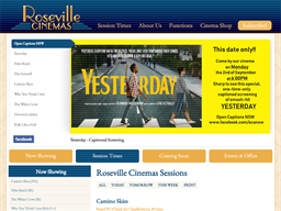 Roseville Cinemas shopping