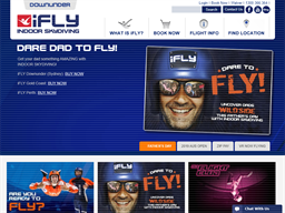 iFLY shopping